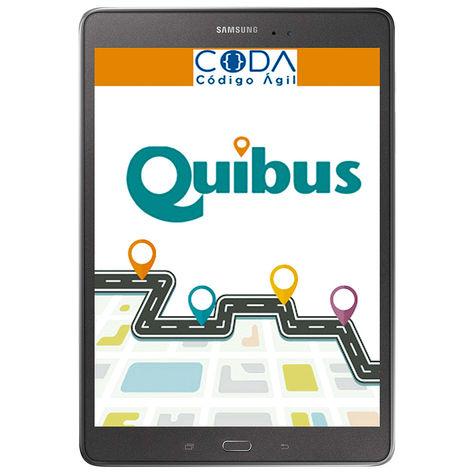 Sistema. Por el momento, QuiBus solo se puede descargar en Android.