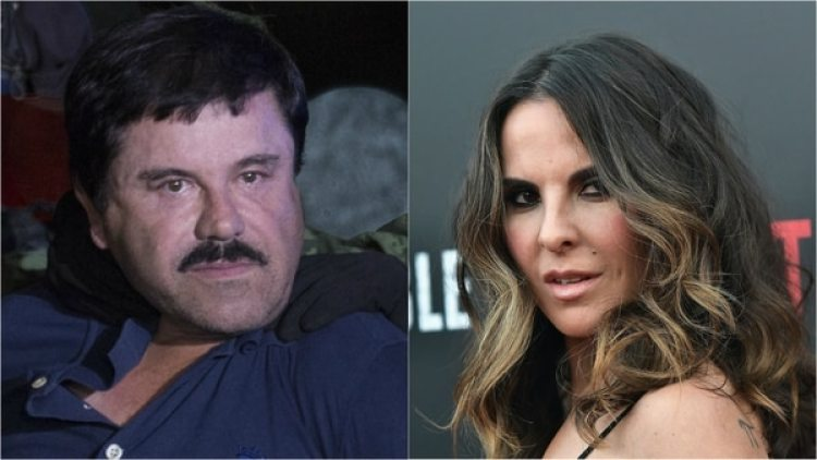 Chapo Guzmán y Kate del Castillo. (Getty)