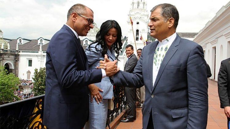 Jorge Glas fue la mano derecha de total confianza del ex presidente Rafael Correa.