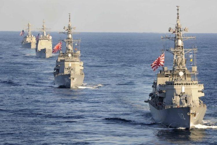 El destructor de clase Takanami de la Fuerza de Autodefensa Marítima del Japón (Reuters)