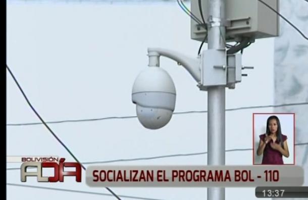 Socializan plan de seguridad denominado Bol-110
