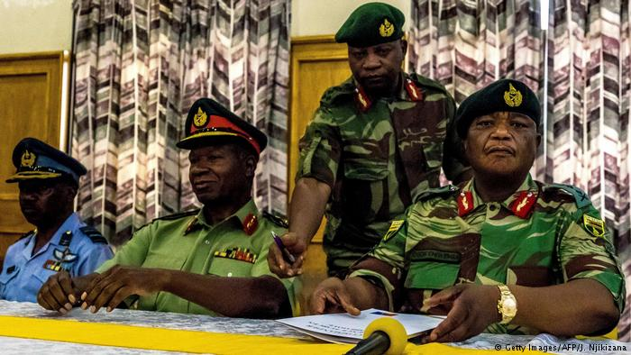 Simbabwe PK Armee - General Constantino Chiwenga (Getty Images/AFP/J. Njikizana)