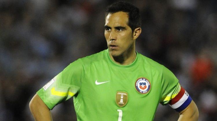 Claudio Bravo: el chileno, actualmente en el Manchester City, será una de las grandes ausencias (Getty)