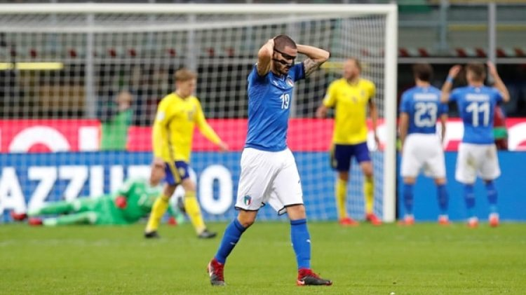 Leonardo Bonucci: el italiano de 30 años es otro de los referentes defensivos que faltará (Reuters)