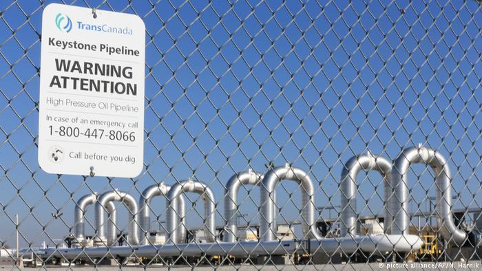 USA Nebraska Keystone Pipeline (picture alliance/AP/N. Harnik)