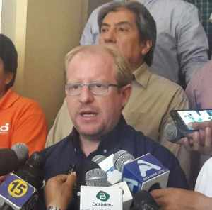 Gobernador del Departamento de Tarija Adrian Oliva