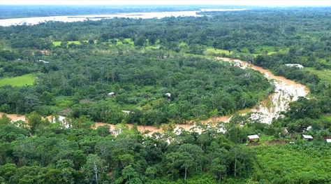 Bosques que rodean a la población de Rurrenabaque en el departamento de Beni. Foto: ABI.