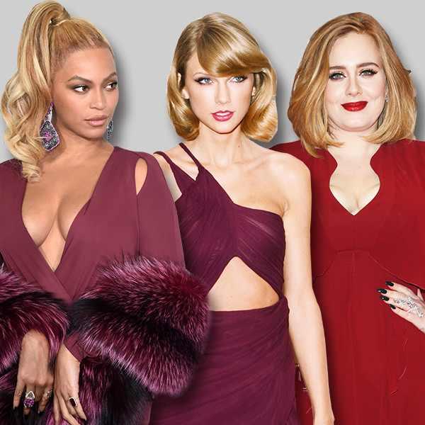 Adele, Beyonce, Taylor Swift