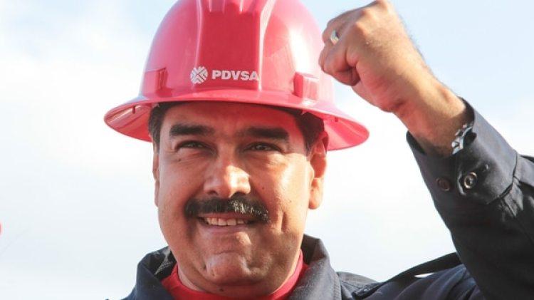 Nicolás Maduro, presidente de Venezuela. La estatal PDVSA tiene complicaciones para mantener su cuota productiva debido a la falta de financiamiento y la crisis en el país