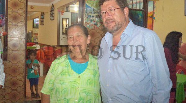 El empresario Samuel Doria Medina, se encuentra de visita en Tarija y dijo que apoya el voto nulo en las elecciones judiciales.