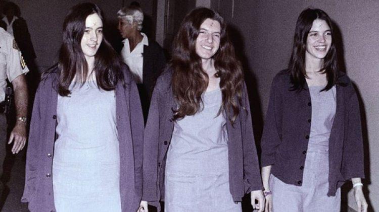 Susan Atkins, Patricia Krenwinkel y Leslie Van Houten