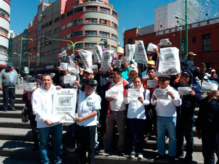 """ORGANIZACIONES POLÍTICAS EN CAMPAÑA POR EL VOTO NULO ANUNCIARON """"CONTROL ELECTORAL"""" EL DÍA DE LAS ELECCIONES."""