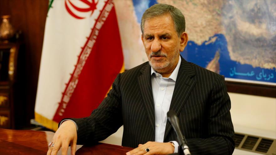 Resultado de imagen para El vicepresidente de Irán, Eshaq Yahanguiri