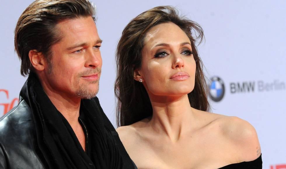 Brad Pitt y Angelina Jolie en 2010 en Berlín.