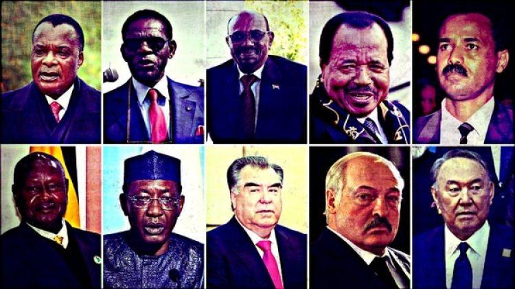 Los 10 dictadores que llevan más tiempo en el poder