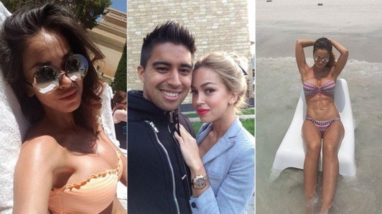 Olga Romanova, esposa del futbolista ecuatoriano Cristhian Noboa, deslumbra en las redes sociales