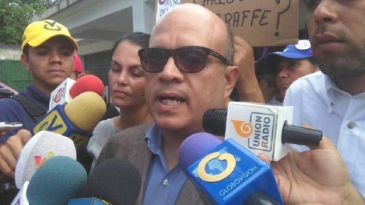 Antonio Marval, magistrado del Tribunal Supremo de Justicia designado por la Asamblea Nacional, controlada por la oposición (@NOTINV1)