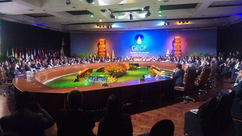 Cumbre de Jefes de Estado y Gobierno de Países Exportadores de Gas desarrollado en Santa Cruz.