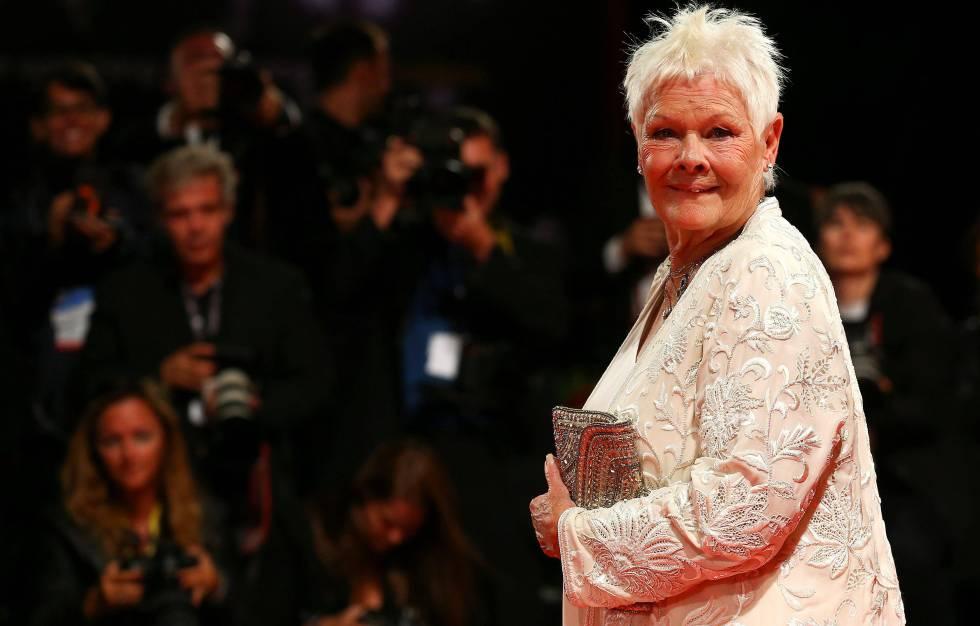 """Judi Dench, en el estreno de """"Victoria and Abdul"""" en Venecia."""