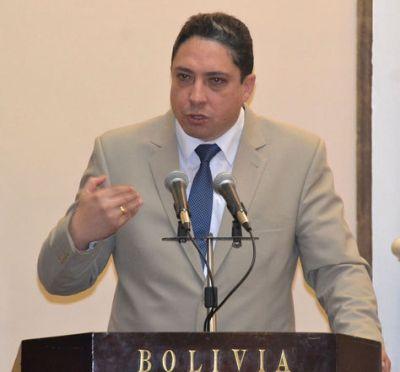 El ministro de Justicia y Transparencia Institucional, Héctor Arce. Foto: ABI