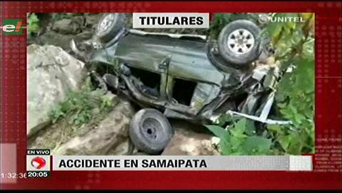Video titulares de noticias de TV – Bolivia, noche del miércoles 1 de noviembre de 2017