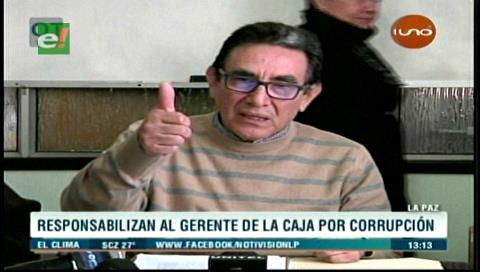 La Paz: Responsabilizan al gerente de la CNS por las irregularidades en el Hospital Obrero