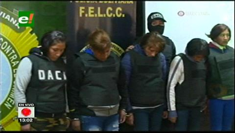 Capturan a ocho delincuentes de la banda 'La Tyson' en La Paz