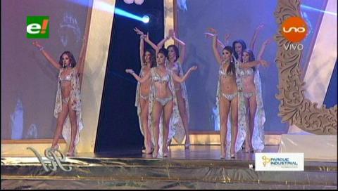 Reina Hispanoamericana 2017: Candidatas en traje de baño