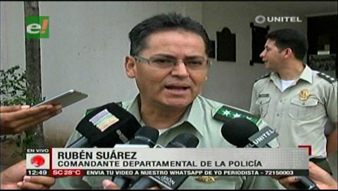 Santa Cruz: Comandante policial lamenta nuevo caso de corrupción en la Fiscalía