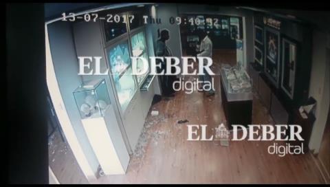 Conversación telefónica y disparos en nuevo video del caso Eurochronos
