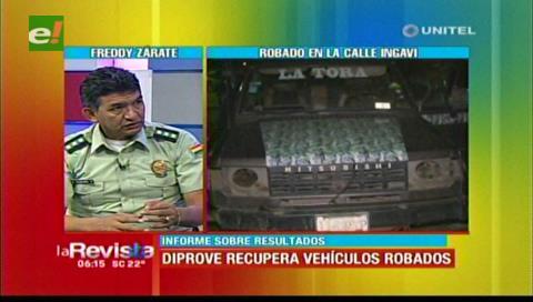 Alerta en Diprove por robo de vehículos que son desmantelados y después abandonados