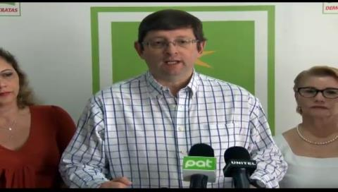 Senador Ortiz cuestiona liberación de exministra Achacollo