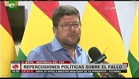 Samuel pide a la población votar nulo en las elecciones en repudio al fallo del TCP