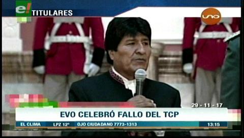 Video titulares de noticias de TV – Bolivia, mediodía del miércoles 29 de noviembre de 2017