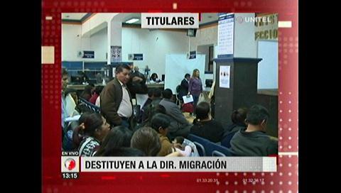Video titulares de noticias de TV – Bolivia, mediodía del sábado 4 de noviembre de 2017