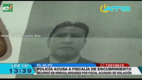 La Policía acusa a la Fiscalía de encubrir a fiscal acusado de violación