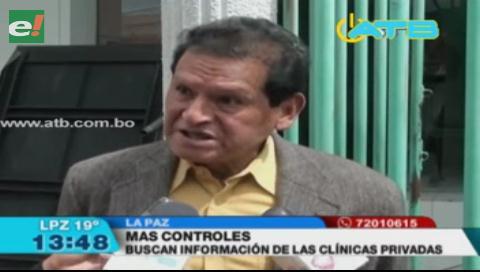 Investigan a clínicas privadas por posibles nexos con análisis particulares en hospital Obrero