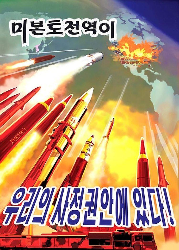 Propaganda militar norcoreana (Reuters)