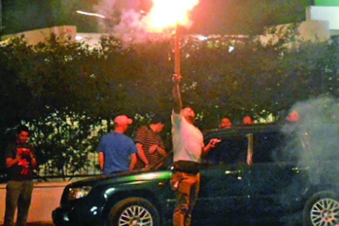 Ciudadanía se autoconvocó para festejar triunfo del nulo