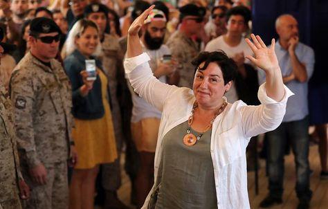 Beatriz Sánchez, del Frente Amplio, obtuvo el 20,3% del respaldo electoral en Chile. Foto: EFE