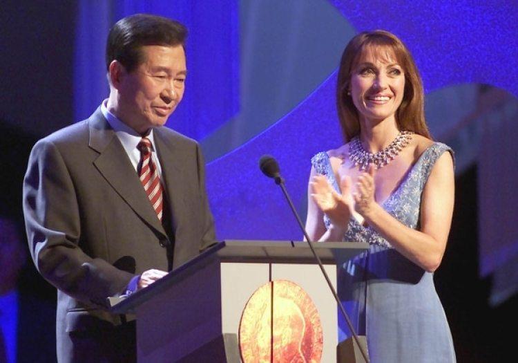 Kim Dae-jung, ex presidente surcoreano y ganador del Premio Nobel de la Paz del año 2000 (Gabe Palacio/ImageDirect)