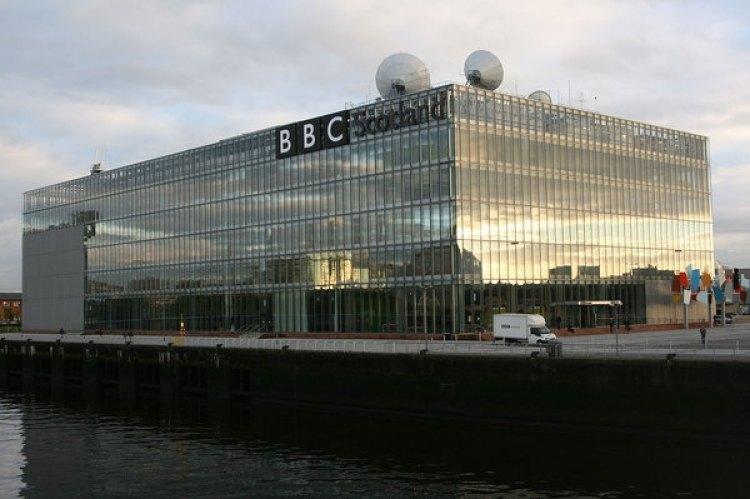 Sede de la BBC en Escocia (Wikimedia)