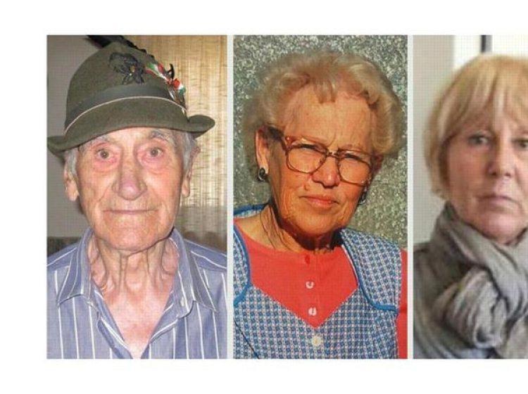 Los abuelos y la tía del asesino.