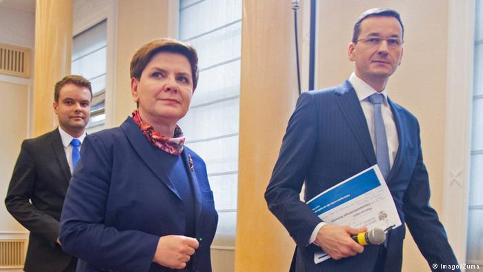 Polen Beata Szydlo Mateusz Morawiecki (Imago/Zuma)