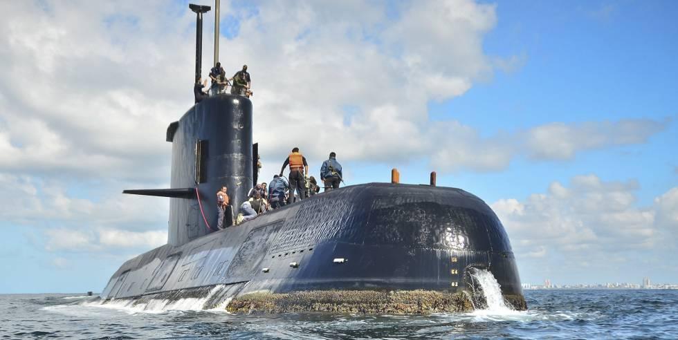 Así es la búsqueda del submarino argentino perdido hace 23 días