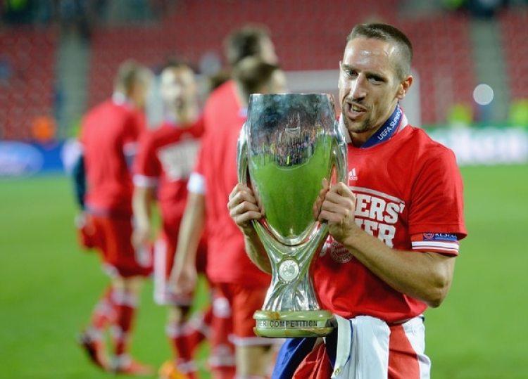 2013: Franck Ribery ganó la Champions, el Mundial de Clubes y la Supercopa de Europa con el Bayern Münich esa temporada por lo que fue elegido el mejor jugador por la UEFA (Getty)