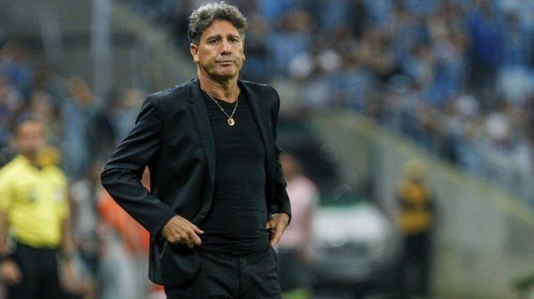 Renato Gaúcho, DT del Gremio, aseguró que fue mejor que Cristiano Ronaldo(Getty Images)