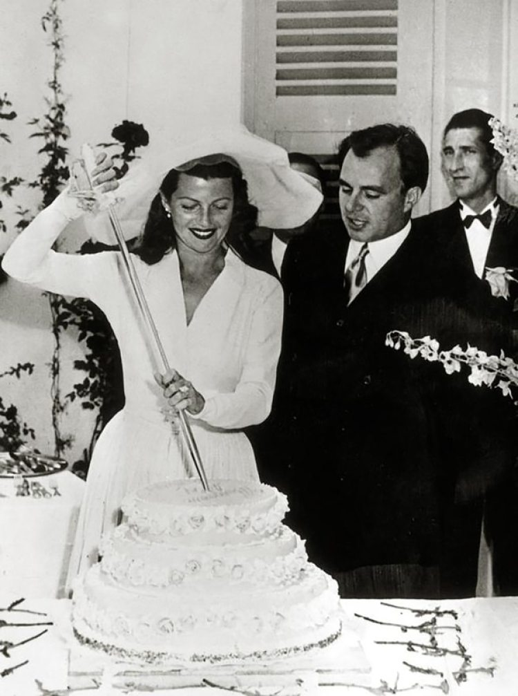 Rita Hayworth y el príncipe Alí Khan
