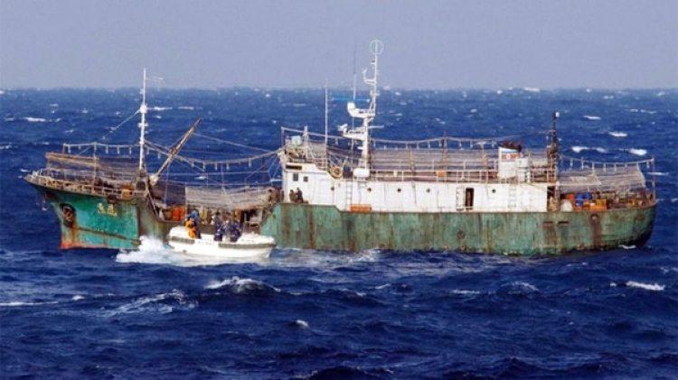 """Uno de los """"barcos fantasma"""" de Corea del Norte (AFP)"""