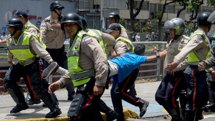 Miles de venezolanos fueron detenidos por el régimen chavista las marchas de este año